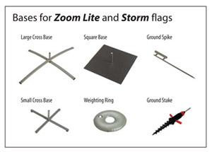 Zoom Lite and Storm bases